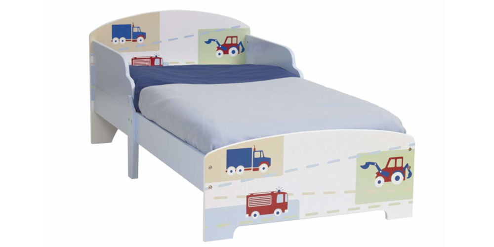 HelloHome Vehicles Boys Kids Toddler Bed